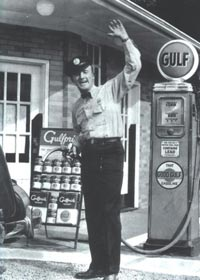 50's Gas Station Attendant