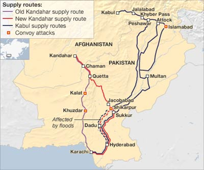 Afghanistan Supply Route
