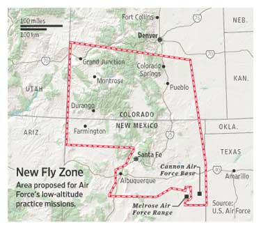 New Fly Zone Map