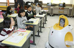 English teaching robot Engkey