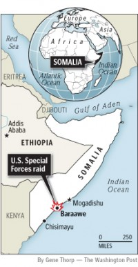 Somalia Map from WaPo