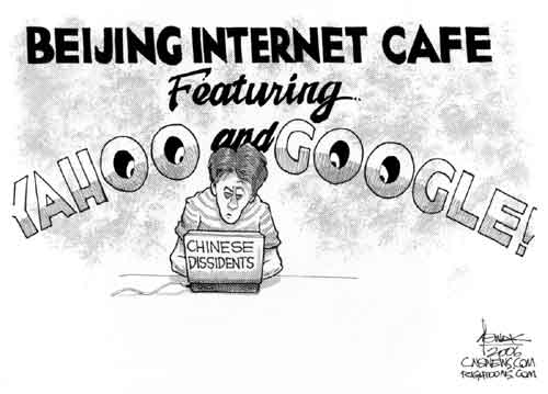 images.google.com cartoon. Why are Google and Yahoo