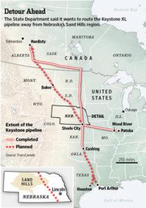 U.S. Delays Pipeline Decision on bakken pipeline map, ogallala aquifer map, north american pipeline map, nexus gas transmission pipeline map, alaska pipeline map, enbridge pipeline map, keystone pipeline map us, et rover pipeline map, sandpiper pipeline map, barack obama map, northern gateway pipeline map, keystone pipeline contractors, keystone pipeline project, middle east map, new keystone pipeline revised map, petroleum pipeline map, strategic relocation north american map, arctic pipeline map, ohio pipeline map, keystone pipeline map ok,