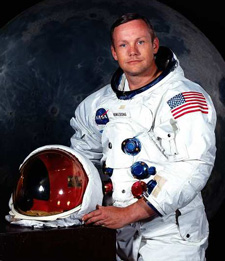 Neil Armstrong, first man on moon, dead at 82