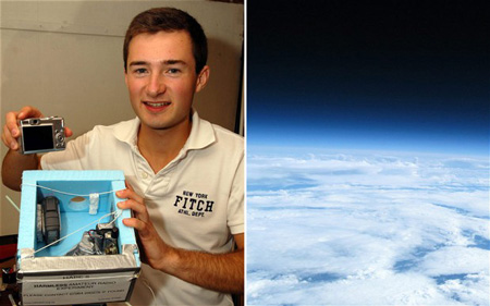 British Teen Takes Pictures Of Earth From Space