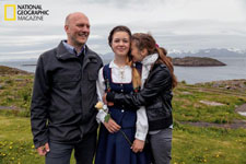 With dreams of studying film, 16-year-old Aurora Ellingsen will soon leave Skrova to attend the regional high school, the first step in a journey that will likely take her far from her parents and her island roots.