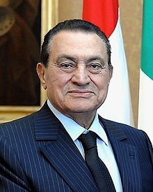 Ousted President Hosni Mubarak, who controlled Egypt from 1981 to 2011.