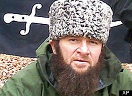 Doku Umarov, leader of Chechen terrorists.