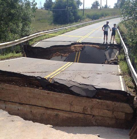 broken roads a big hurdle in colorado flood recovery