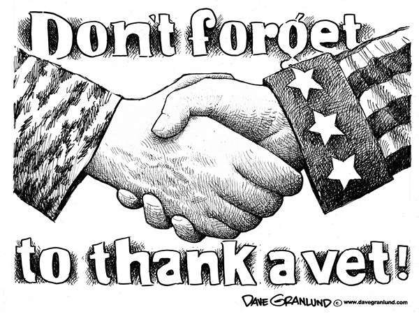 Veterans Day 2019 – Don't forget to thank a vet