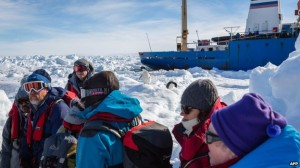 All 52 passengers on the Shokalskiy were rescued and transferred to the Aurora Australis on Thursday