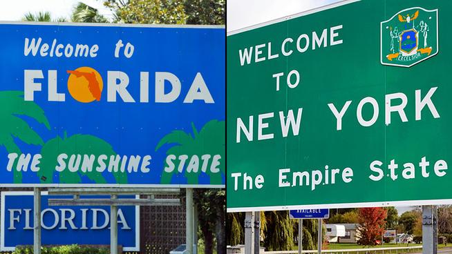 florida to pass new york state�s population