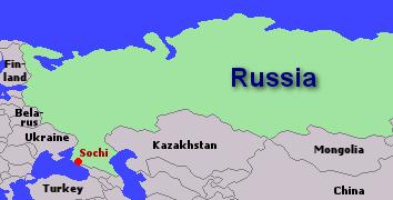 sochi mapa Seventeen solo athletes set to represent their nations at Sochi Games sochi mapa