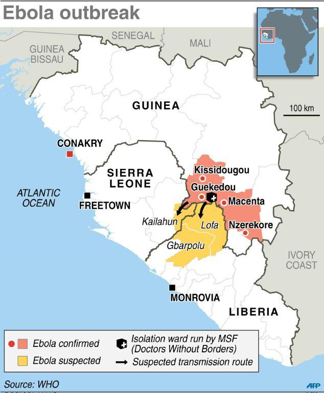 List of Ebola outbreaks