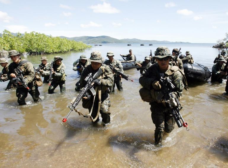 U S Philippines Begin War Games Focusing On Maritime Threats