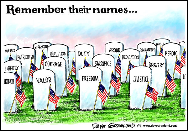 Image result for Memorial Day Cartoons