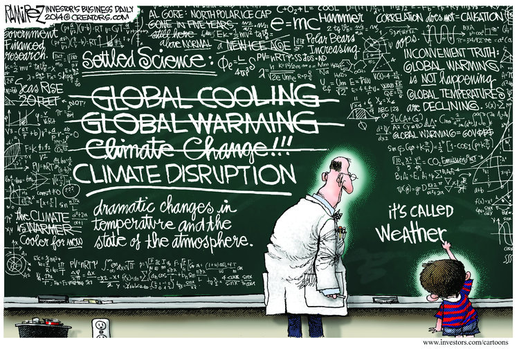 Did global warming cause OK & TX flooding?