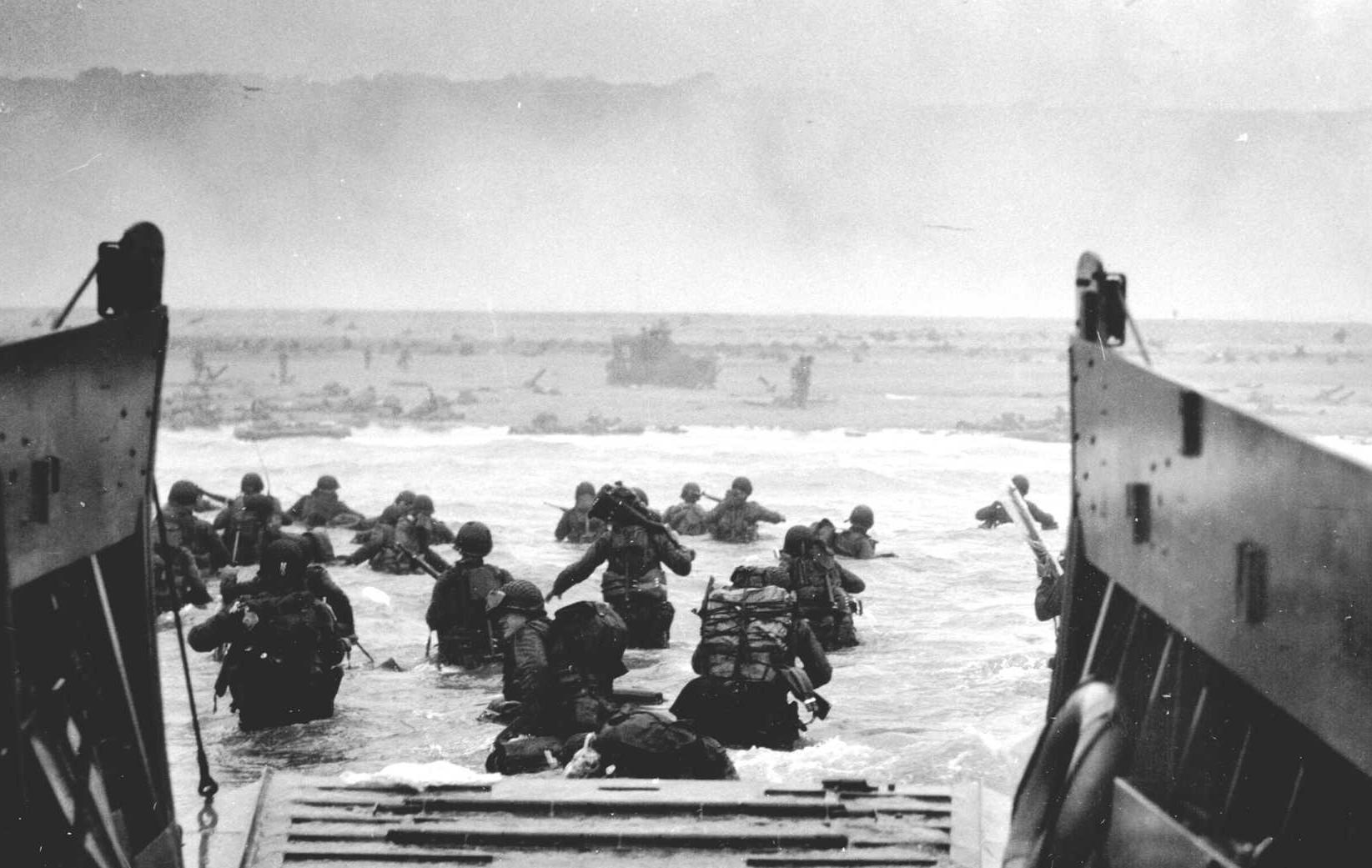 D Day 6 June 1944 - Normandy landings