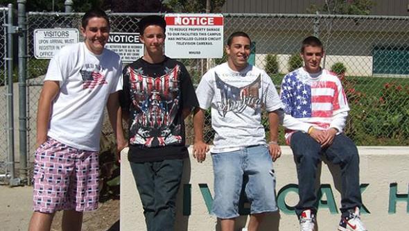 Banned American Flag School's us Flag Shirt Ban