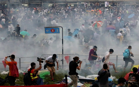 Image: HONG KONG-CHINA-POLITICS-DEMOCRACY