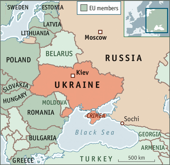 ukraine-eu-russia-map