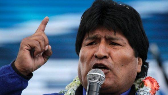 Brazil-President-Morales