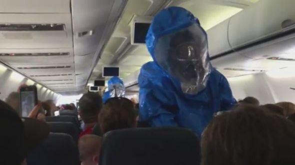 DR Plane Ebola