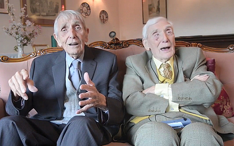 100 year old twin brothers