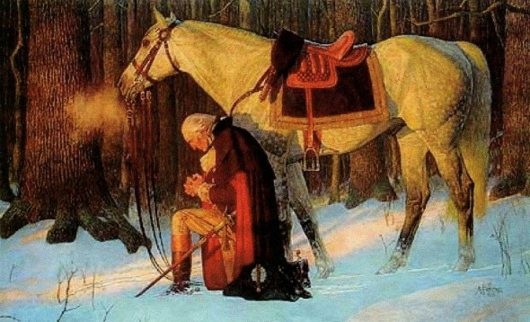George-Washington-at-Valley-Forge