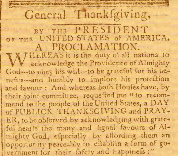 historical-document-Washington-Thanksgiving-Proclamation