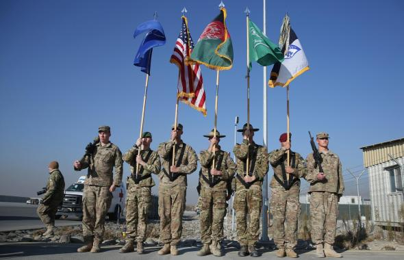 US NATO end Afghan combat mission