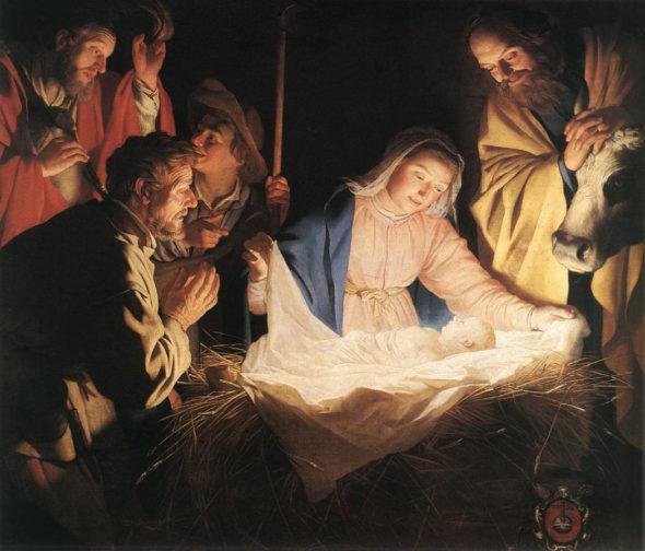 honthorst_christmas_manger