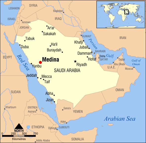 Medina_Saudi_Arabia_map
