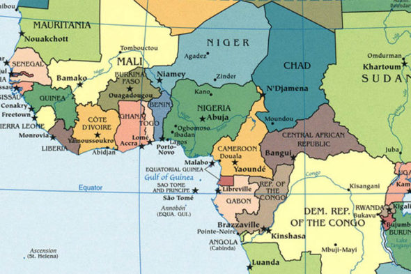 West-Africa-map