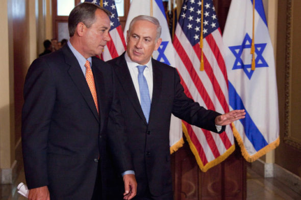 Benjamin Netanyahu, John Boehner