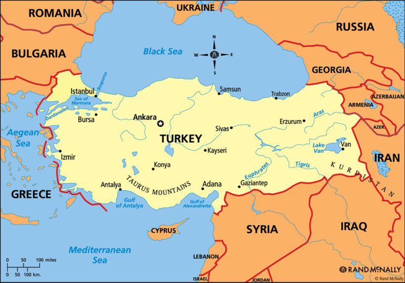 Turkey-map