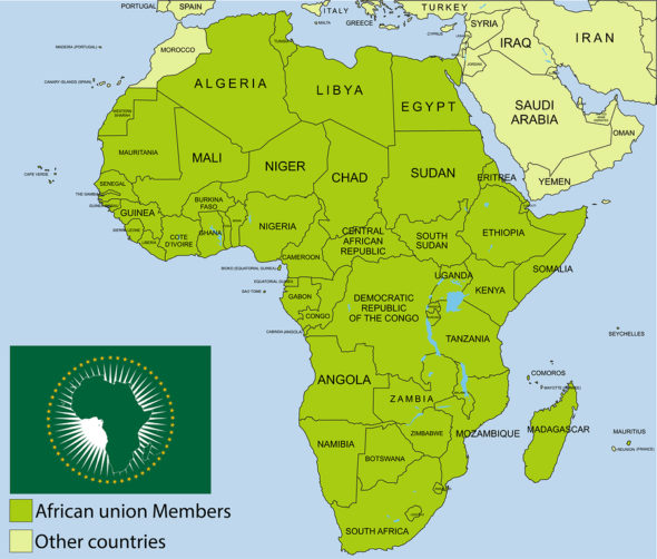 african-union-map