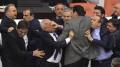 turkey-parliament-brawl-protest
