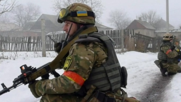 Reuters accompanies Ukraine's National Guard during sweep of village