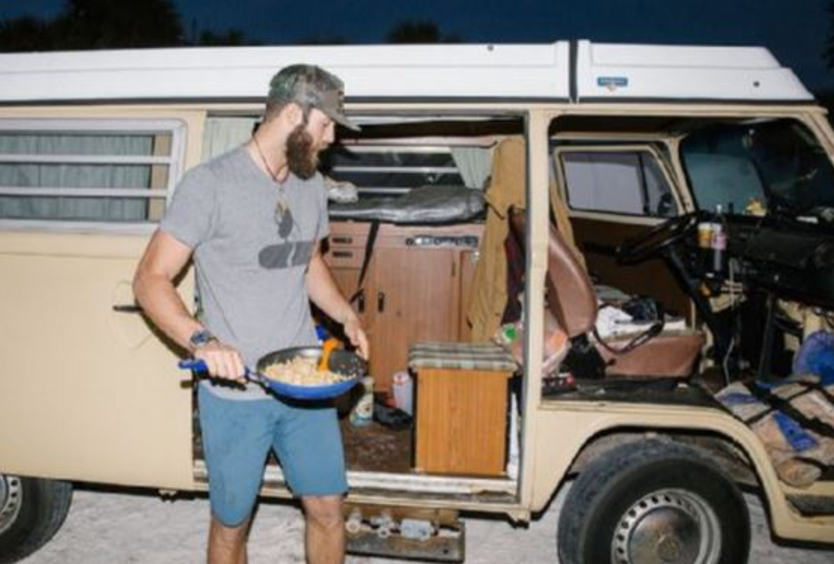 Mlb Player Lives In A Van