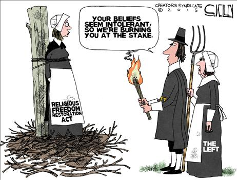 Image result for religious intolerance cartoon