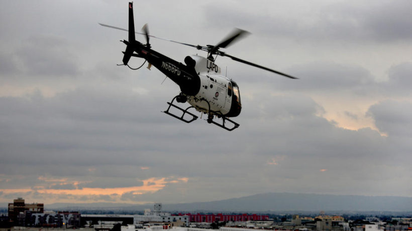 LAPD uses its helicopters to stop crimes before they start