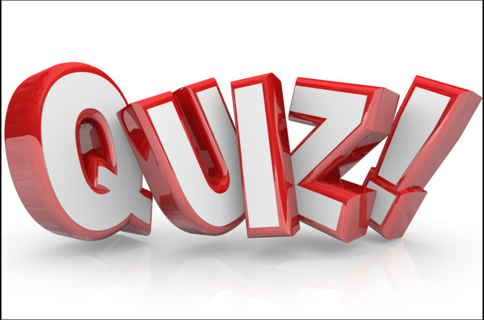 News quiz for week ending 2/21/20