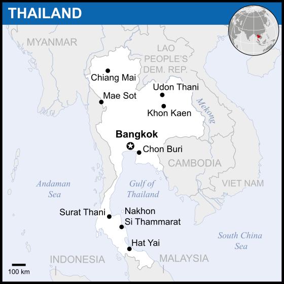 Thailand_-_map