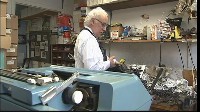 The last typewriter repairman in NY