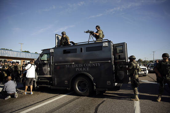 Obama Calls for Restricting Military Gear to Local Police