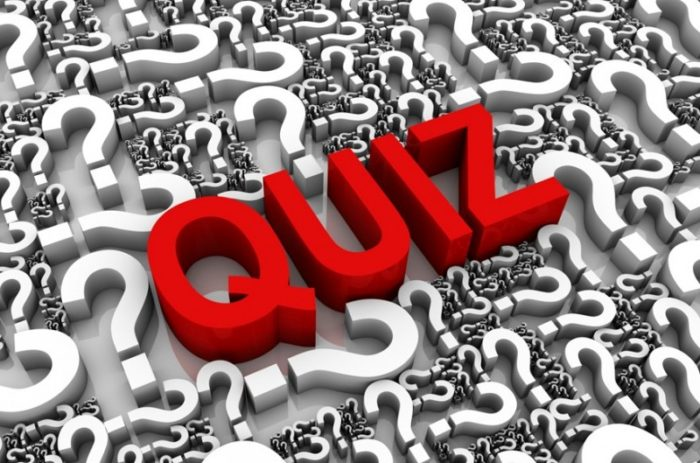 News quiz for week ending 4/9/21