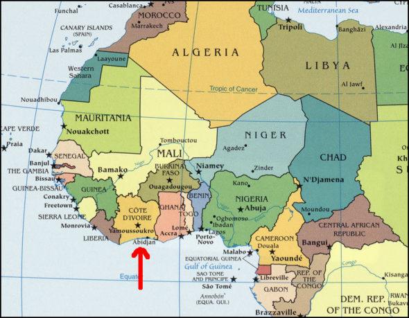 ivory-coast-map