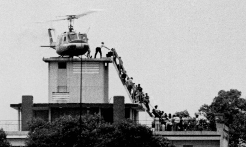 The history-making, chaotic evacuation of Saigon