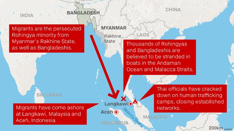 rohingya-trafficking-map_CNN